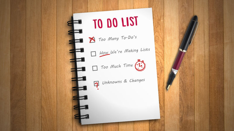 increase performance with an effective to do list